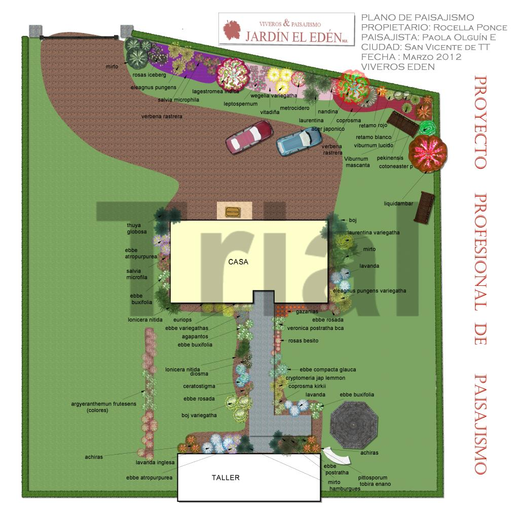 Viveros eden agua mineral eden 1982 2016 planos de for Diseno de jardines en parcelas